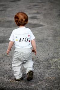 Kleiner Junge beim Nordberliner Zuspitzlauf 2013